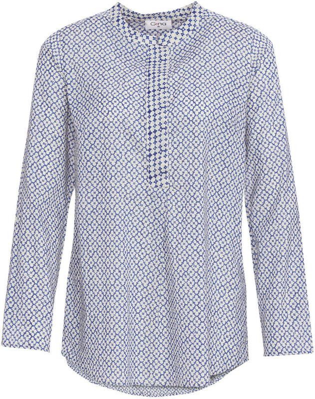 Damen Bluse mit Patchwork-Muster (Nur online)