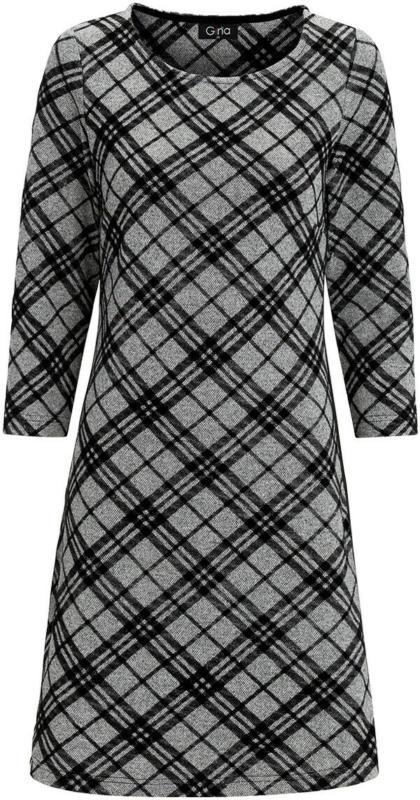 Damen Kleid mit Karomuster (Nur online)
