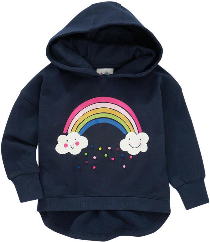 Mädchen Hoodie mit Regenbogen-Motiv (Nur online)