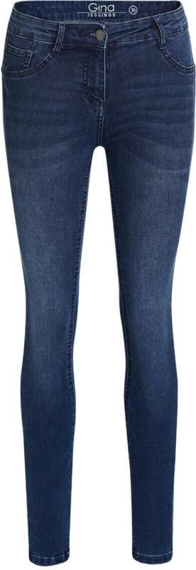 Damen Superflexible-Jeans mit Used-Waschung (Nur online)