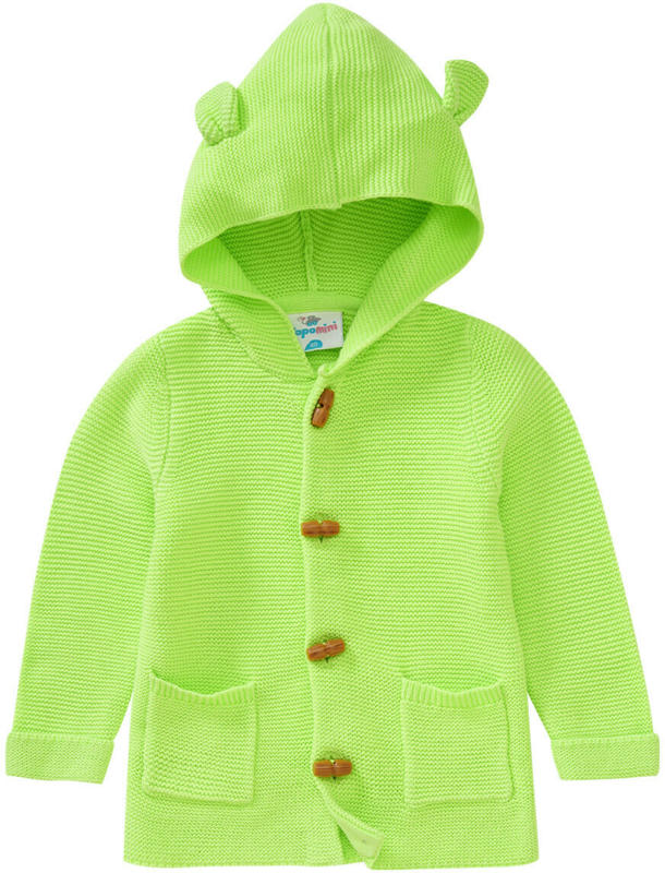 Baby Strickjacke mit Kapuze (Nur online)