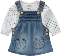 Baby Latzkleid und Langarmshirt im Set (Nur online)