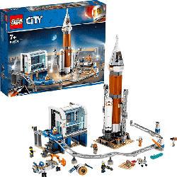 LEGO 60228 Weltraumrakete mit Kontrollzentrum Bausatz, Mehrfarbig