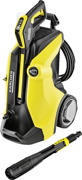 KÄRCHER 1.317-030.0 K 7 Full Control Plus Hochdruckreiniger, Gelb/Schwarz