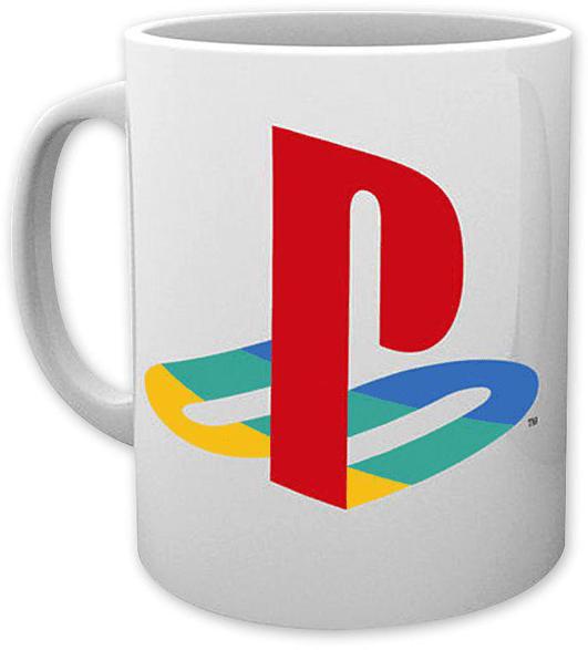 GB EYE Sony Playstation 1 Logo Tasse, Mehrfarbig