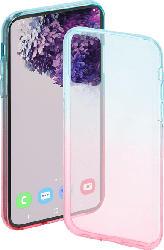 HAMA Shade , Backcover, Samsung, Galaxy S20+ (5G), Thermoplastisches Polyurethan, Blau/Pink