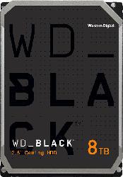 WD BLACK™ Desktop-Performance-Festplatte, 8 TB HDD, 3.5 Zoll, intern