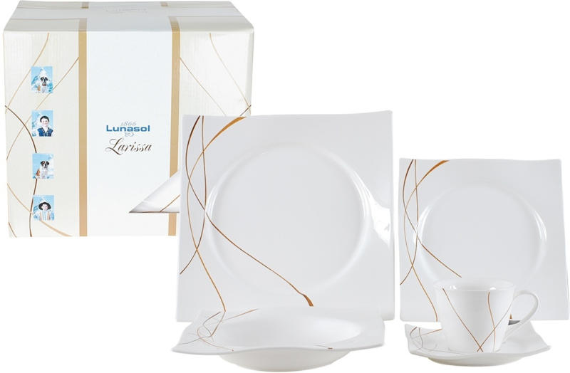 Geschirrset LUNASOL LARISSA
