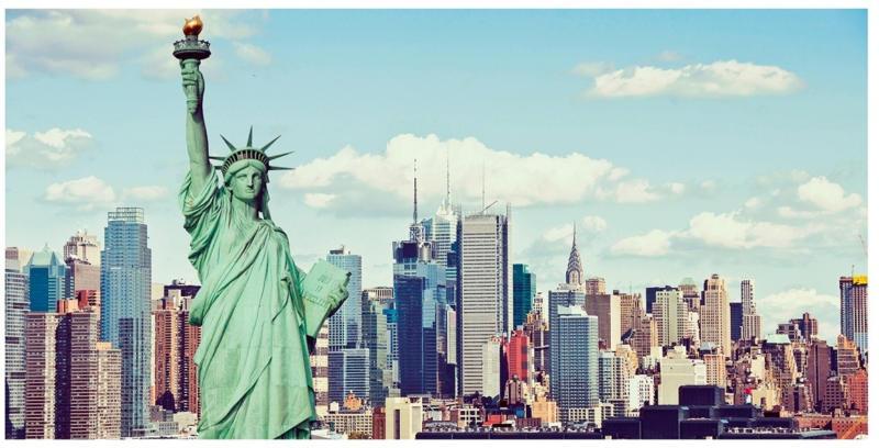 Toile imprimée NEW YORK