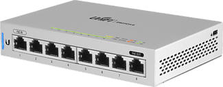 UBIQUITI UniFi® Switch 8 - Commutateur Gigabit 8 ports (Blanc)