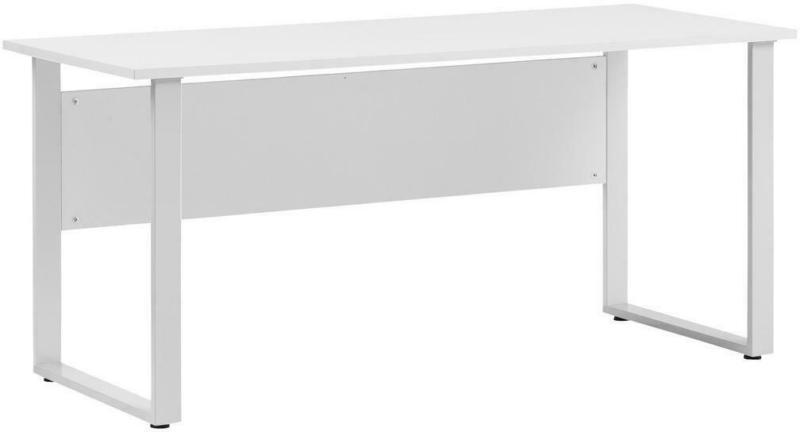 Schreibtisch Serie 1500 Hellgrau