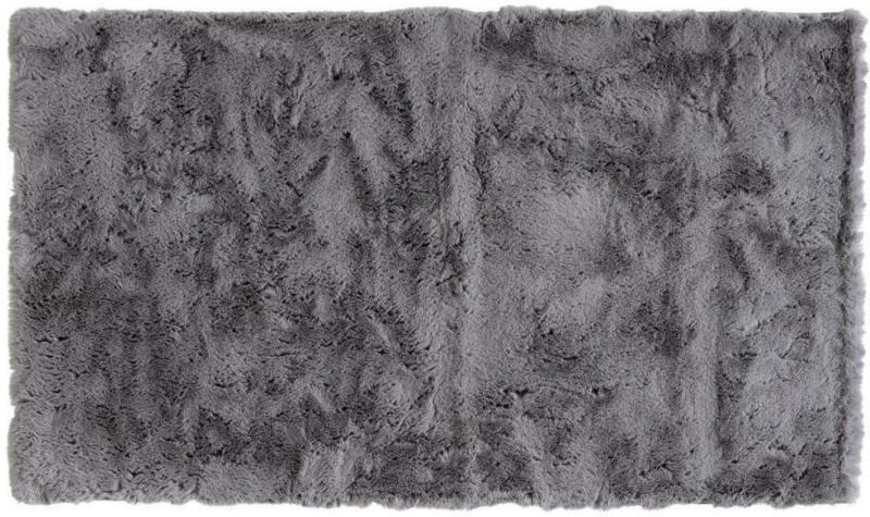 Badematte 70/120 cm Grau