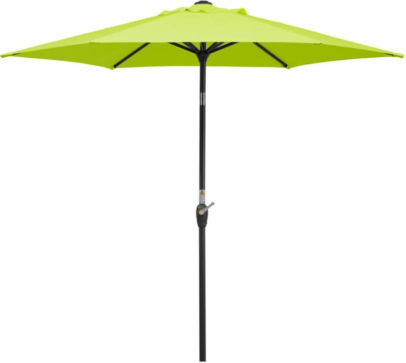 "Sonnenschirm ""Bilbao"" Ø220 cm, apfelgrün apfelgrün"