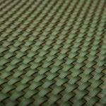 BayWa Bau- & Gartenmärkte Polyrattan Balkonsichtschutz 90x300 cm, Grün Grün