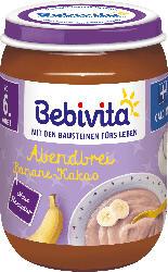 Bebivita Abendbrei Banane-Kakao, ab dem 6.Monat