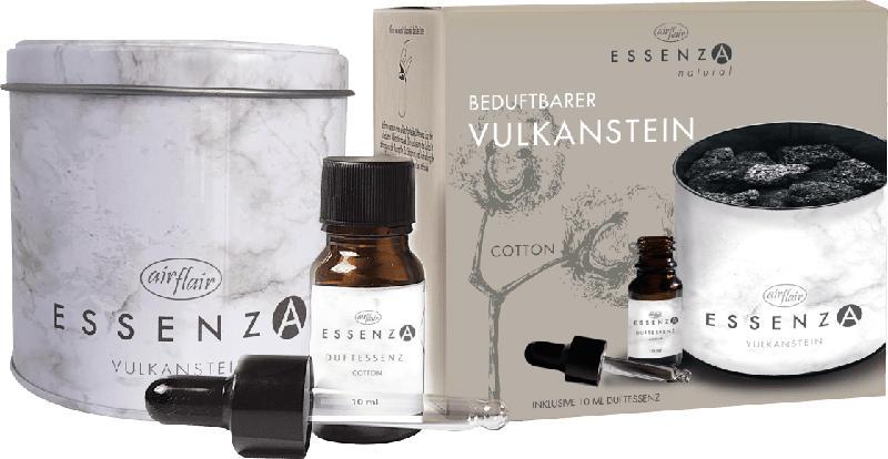 Essenza Raumduft, beduftbarer Vulkanstein mit Duftessenz