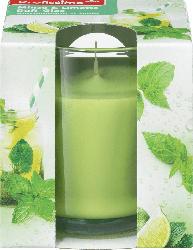 Profissimo Duftkerze mit Glas Minze und Limette