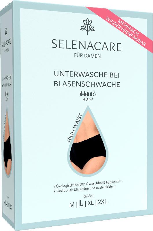 SELENACARE Blasenschwäche-Unterwäsche High Waist Damen Größe L