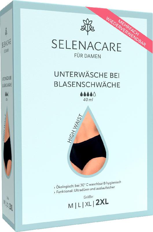 SelenaCare Blasenschwäche-Unterwäsche High Waist Damen Größe XXL
