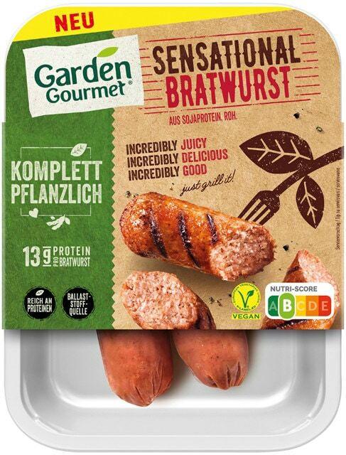 Garden Gourmet Sensational vegane Bratwurst