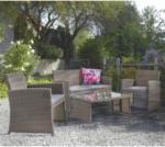 Lipo Ensemble table et fauteuils MONACO