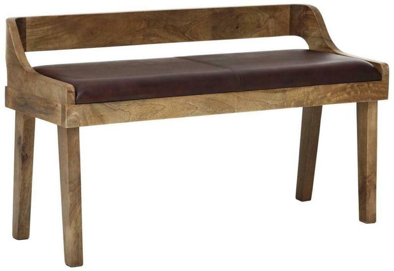 Sitzbank B: ca. 108 cm Braun
