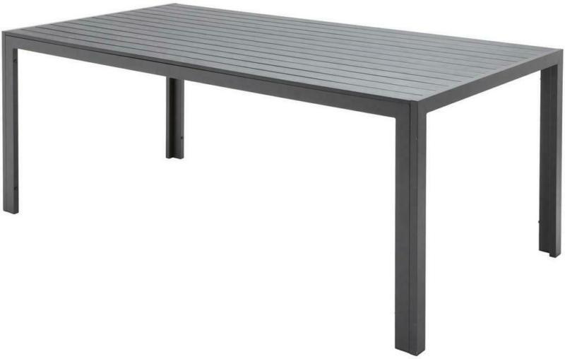 Gartentisch Mila, Aluminium und Kunststoff L 180 cm