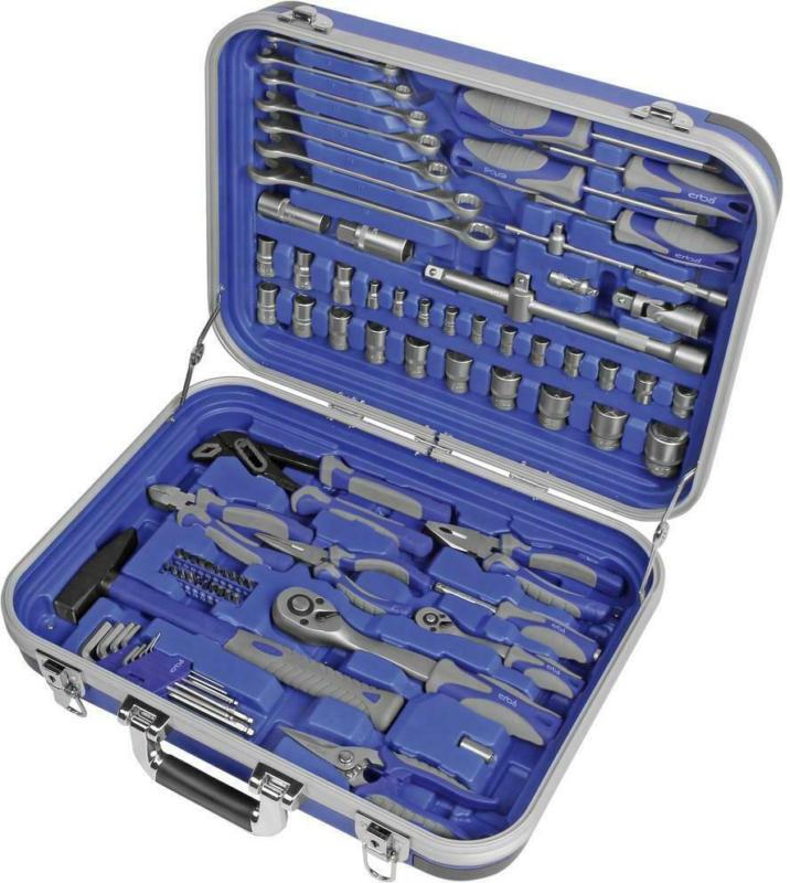 Werkzeugkoffer 03156 1/2' und 1/4', 82-teilig