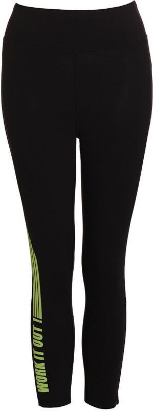 3/4 Damen Sporthose mit elastischem Bund (Nur online)