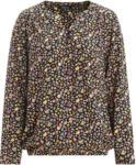 Ernsting's family Damen Bluse mit elastischem Saum (Nur online)