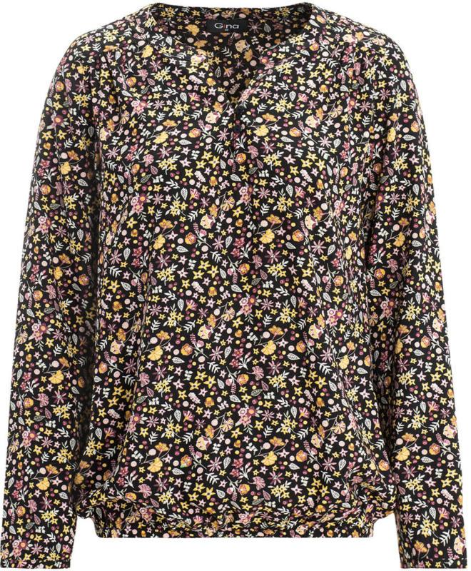 Damen Bluse mit elastischem Saum (Nur online)