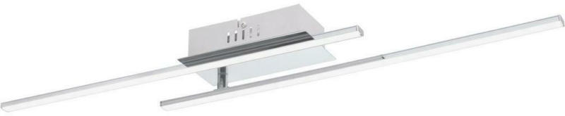 LED-Deckenleuchte Parri L: 80 cm Mit 2 Leuchtarmen