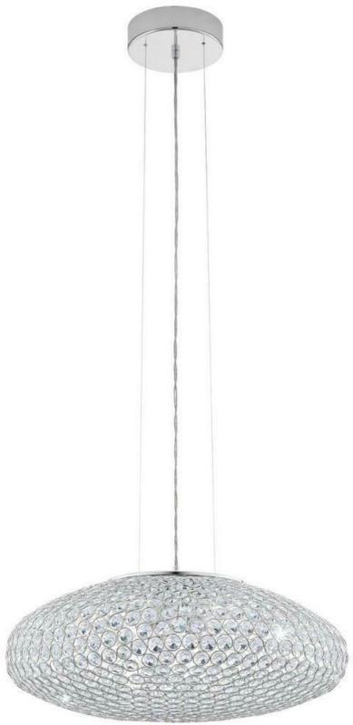 Hängeleuchte Clemente H: 110 cm mit Kristallglas