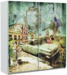 Möbelix Schiebetürenschrank 170cm Plakato Cuba, Multicolour