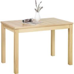 Esstisch in Holz, Holzwerkstoff 110(160)/70/76 cm