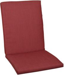 Sesselauflage in Rot Uni