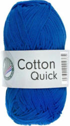 "GRÜNDL Strickgarn ""Cotton Quick"" 50g royalblau"