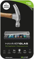 MLINE Hammerglas für iPhone 5/5S/5C/SE