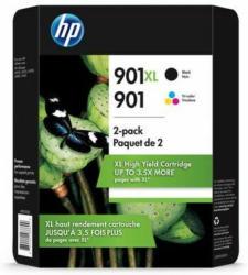 HP Ink Nr.901XL black + Nr.901 14ml 9ml color 1x2