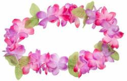 """Hawaiikette """"Blumen"""" bunt"""