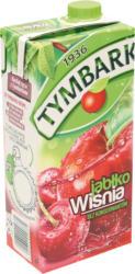 Erfrischungsgetränk mit Apfel- und Kirschsaft aus Fruchtsaftkonzentraten. Mit Zucker und Süßungsmittel. Pasteurisiert