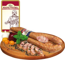 Polnische mittelgrobe Brühwurst