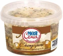 Champignons mit Gewürzen, eingelegt in Öl