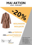 Hammerl TextilCare Hammerl TextilCare Mai 2021 - bis 29.05.2021