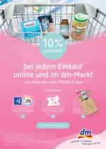 10% geschenkt bei jedem Einkauf