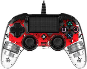 NACON Light Edition - Manette Gaming (Rouge)