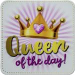 Möbelix Glasuntersetzer Queen Of The Day !
