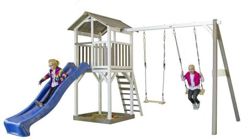 Spielturm Sunny Beach Tower Ds Schaukeln, Rutsche, Sandkiste