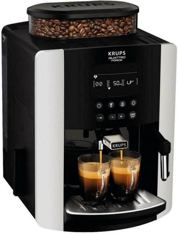 Krups Kaffeevollautomat Ea8178 Arabica Quattro Force Display