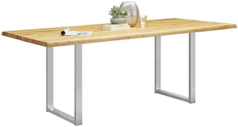 Esstisch in Holz, Metall 200/100/75 cm